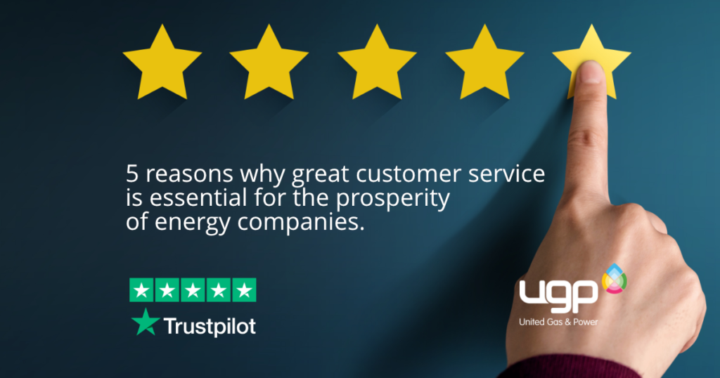 5 reasons why great customer service is essential for the prosperity of energy companies